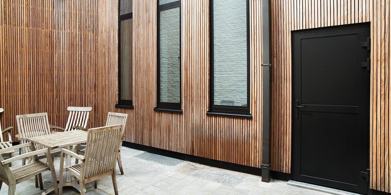 Advantages of aluminum doors